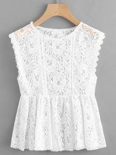 Очень красивые летние блузки | модница | Яндекс Дзен