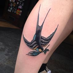 50+ Lucky Swallow Bird Tattoo Meaning and Designs - Fly in The Sky