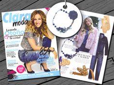 ¡Nuestro #collar de la colección Lady Omala en la revista Clara!