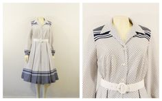 Vintage Dress 60s Mad Men Debbie Bee Blue   by 2sweet4wordsVintage La Moda  De Los 60 001823e79d08
