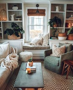 Bohemian Style Home Decors with Latest Designs Home Design: Interior Design Ideas for Contemporary H Living Room Interior, Home Living Room, Apartment Living, Cozy Living Rooms, Cosy Cottage Living Room, Cosy Apartment, Living Room With Color, Small Living Spaces, Living Room Vintage