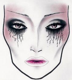 MAC Cosmetics - Halloween Face Charts and Halloween Makeup - High ...