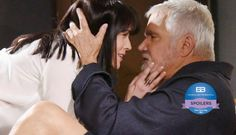 The Bold and Beautiful's Eric Forrester (John McCook) and Quinn Fuller (Rena Sofer) took the world by surprise when their crazy/weird fling was brought to light Bold And The Beautiful, Beautiful Couple, Rena Sofer, Be Bold, Best Actress, Things To Think About, Two By Two, Bring It On