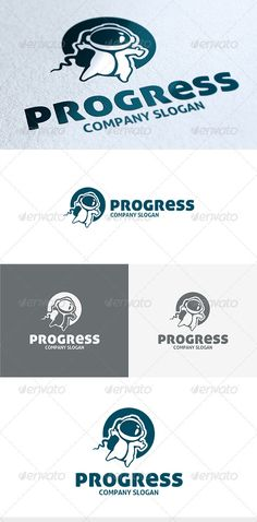 Progress Logo Design Template Vector #logotype Download it here: http://graphicriver.net/item/progress-logo/3664966?s_rank=4?ref=nexion