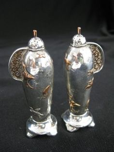 This gorgeous and rare set of Tiffany salt and pepper shakers soared to $4,000.