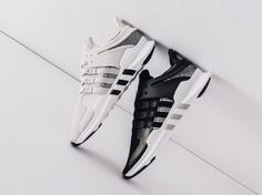 adidas EQT Support ADV Pack Black Grey - Sneaker Bar Detroit Grey Sneakers 34a9f23c3