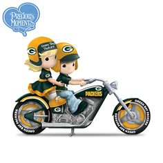 Precious Moments Gearing Up For A Season Packers Figurine