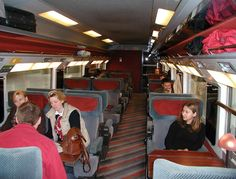 First Class Car, London to Paris, Eurostar - Pixdaus