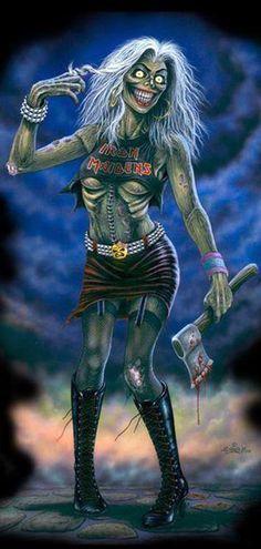 Iron Maiden Fan Art                                                                                                                                                                                 Mais
