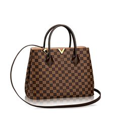 Kensington Damier Ebene Canvas - Handbags | LOUIS VUITTON