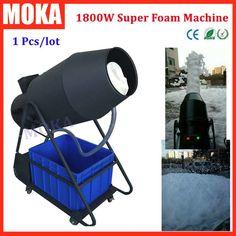 2200.00$  Watch now - http://aliqbl.worldwells.pw/go.php?t=32697821025 - 1 Pcs/lot big foam machine1800W party milk foam machine soap spray blaster foam maker machine for dj party stage effect 2200.00$