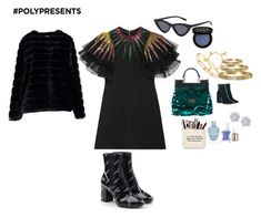 """#PolyPresents: Wish List"" by w-zap ❤ liked on Polyvore featuring Balenciaga, Gucci, Dolce&Gabbana, Cartier, Effy Jewelry, Essie, Gianvito Rossi, contestentry and polyPresents"