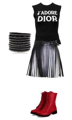 Untitled #1441 by tigergirl121 on Polyvore featuring polyvore, fashion, style, Christian Dior, Alaïa and clothing
