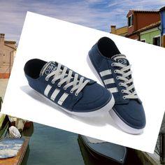 Adidas Originals Stile NEO Scarpe da Uomo Blu/Bianco/Grigio