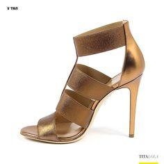 V 1969 Womens Ankle Strap Sandal ELSA