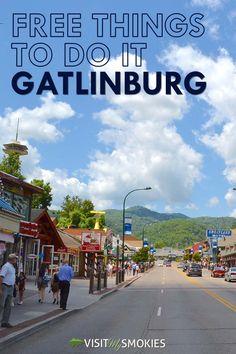 10 Free Things To Do in Gatlinburg You Don't Want to Skip http://www.visitmysmokies.com/blog/gatlinburg/10-free-things-gatlinburg-dont-want-skip/