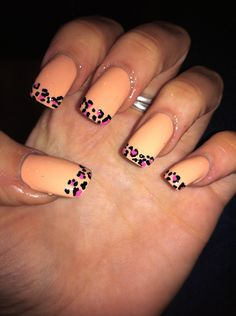 easy with using just a portion of the Sally Hanson or OPI nail decals!