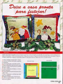146 Natal Guia do Atelie Patchwork & Cia. n. 7 - maria cristina Coelho - Álbuns da web do Picasa