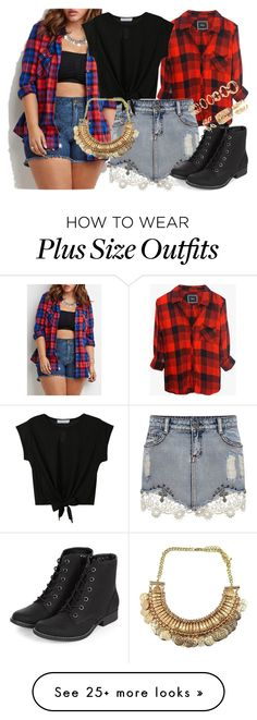 """Plus Size Beauty"" by alyssahale on Polyvore featuring Rails, Forever 21, women's clothing, women, female, woman, misses and juniors"