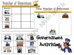 Branches of Government Activities 4th Grade Social Studies, Teaching Social Studies, Teaching Government, Branches Of Government, Study Board, Ginger Snaps, 5th Grades, Funny Me, Constitution