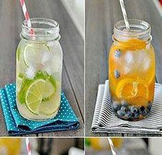 Kendi malzemelerizle kendinize özel suyunuzu hazırlayın! - PembeNar