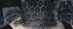 ... > 80 Honeycomb Tattoo Designs For Men – Cool Hexagon Ink Ideas