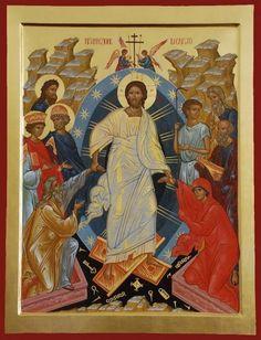La Resurrezione - E. Venuti Christ is risen! Jesus Christ Lds, Christ Is Risen, Jesus Art, Religious Icons, Religious Art, Biblical Verses, Art Icon, Orthodox Icons, Sacred Art