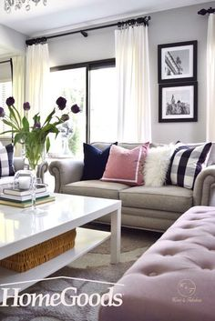Shopping for throw pillows can be a frustrating process—there are hundreds of different options to consider, like color, size, and material. So how do you find the right one to decorate your space? Find your inspiration at your local HomeGoods store.