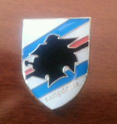 Spilla pin badge calcio football Sampdoria