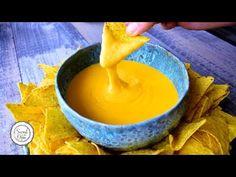 Nacho Cheese Sauce Recipe - YouTube Sauce Recipes, My Recipes, Real Food Recipes, Diet Recipes, Nacho Fries, Nacho Cheese Sauce, Food Videos, Recipe Videos, Recipe Please