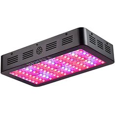 BESTVA 1000W Double Chips LED Grow Light Full Spectrum Grow Lamp for Greenhouse Hydroponic Indoor Plants Veg and Flower  BESTVA Newest Technology: Dual-chip(10W) LEDs which is much brighter and more efficient than traditional 3W and 5W LEDs. It is the HIGHEST PAR/LUMEN OUTPUT PER LEDs  Full Spectrum 1000 watt led grow lights are beneficial to plants, vegetables and flower indoor growing at all stages, just like in the natural sunshine  Powerful Cooling Fan System, cool and quiet. Holes...