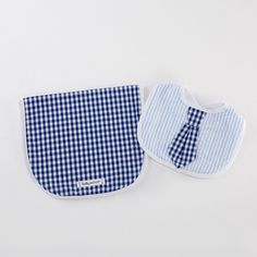 Little Man Bib & Burp Set | Baby Aspen Baby Gifts