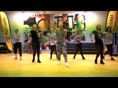 ZUMBA FITNESS MEGA MIX 52 - La Aspirina (Merengue) - YouTube