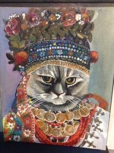 Серия кошки народов мира. Украинская кошка
