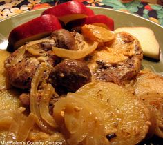 Miz Helen's Country Cottage: Whats For Dinner Next Week:Slow Cooker Pork Chop Dinner