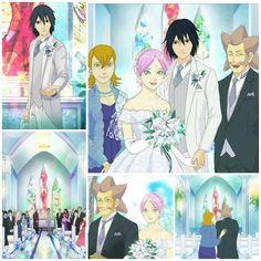 Sasuke and Sakura Uchiha Wedding Day ❤️❤️❤️