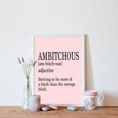 Ambitchous Definition