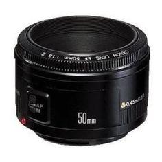 Lente Canon 50mm F1.8 Para Câmeras Digitais Eos - R$ 414,99