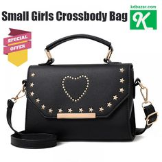 32e76e22aa Fashion Heart Small handbags For Girls