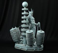 ArtStation - Marvel Electro for XM Studios, Daniel Bel