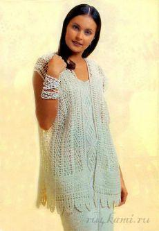 Crochet vest — Crochet by Yana Crochet Jacket, Crochet Cardigan, Knit Crochet, Crochet Vests, Crochet Buttons, Knit Patterns, Cardigans For Women, Crochet Clothes, Creations