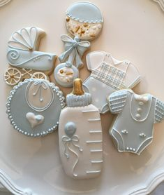 Baby boy shower cookies baby shower ideas in 2019 идеи для baby sho Baby Boy Cookies, Baby Shower Cookies, Fancy Cookies, Iced Cookies, Sugar Cookies, Heart Cookies, Valentine Cookies, Easter Cookies, Birthday Cookies