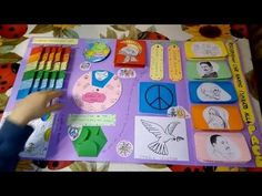 How to make a Tri-Folder Lapbook.mpg - YouTube