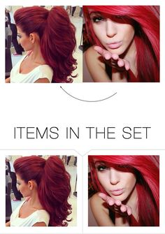 """""""My hair extensions.. ~Ariella"""" by my-anons-universe ❤ liked on Polyvore featuring art"""