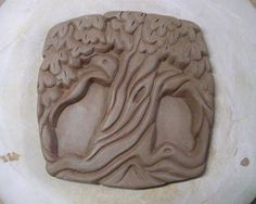 Ceramic Research-relief LaPella Art: Joy Ride tree trunk ceramic tile pottery clay Clay Tiles, Ceramic Clay, Ceramic Studio, Ceramics Projects, Clay Projects, Ceramics Ideas, Slab Pottery, Ceramic Pottery, Pottery Wheel