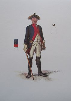 Military Divisions, Frederick The Great, Seven Years' War, Costume, 18th Century, Army, History, Reading, Books