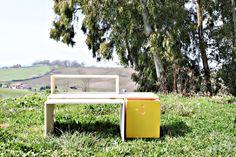 kids desk nella sua nuova versione in yellow, è primavera!
