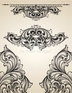 Designed by a hand engraver. Page corners and rule line element dividers of high detail. Authentic engravings. Change color and scale easily with the enclosed EPS and AI files. Also includes hi-res...