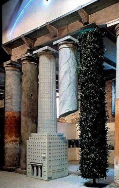 Hans Hollein, Facciata per la Strada Novissima, 1. Biennale Architettura, Venezia 1980