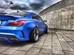 Wide-Body kit for Mercedes-Benz CLA by Fairy Design